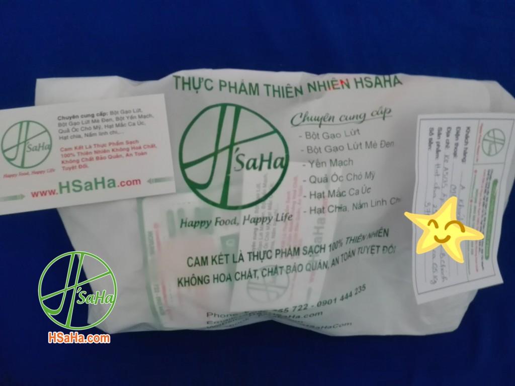Giao 0,5 Kg Mắc Ca Úc Hsaha Và 250 Gram Hạt Chia Hsaha Đến Huyện Bình Chánh Cho Chị Khánh