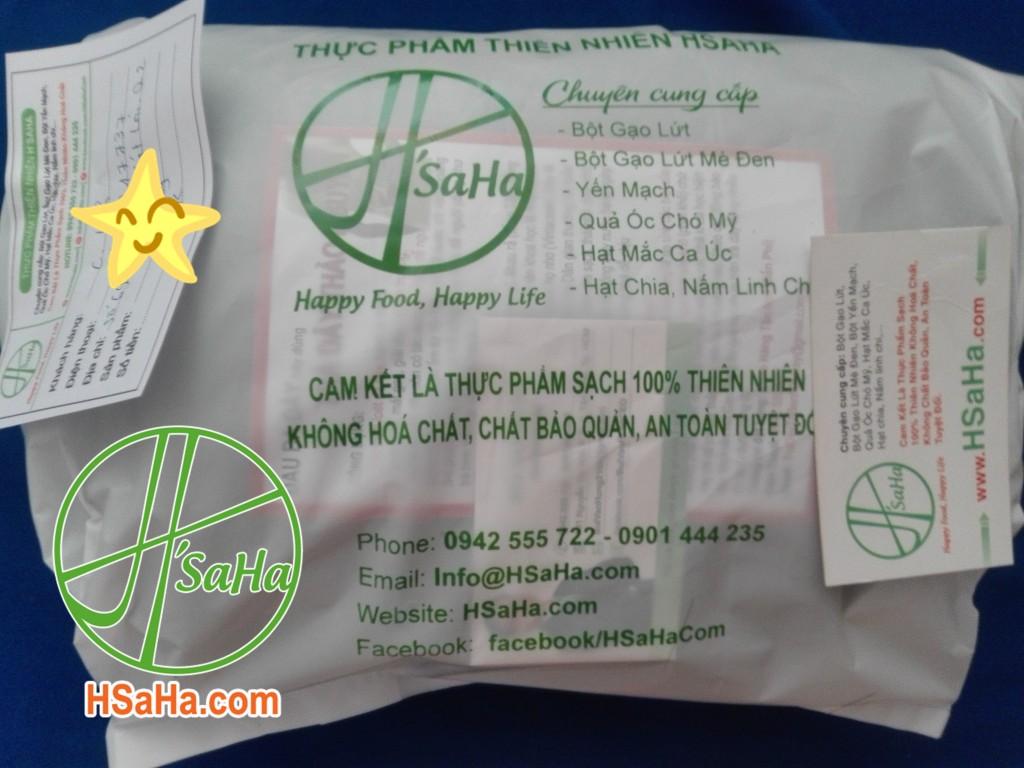 Giao 0,5 Kg Trà Dây Hsaha Đến Quận 2 Cho Chị Linh
