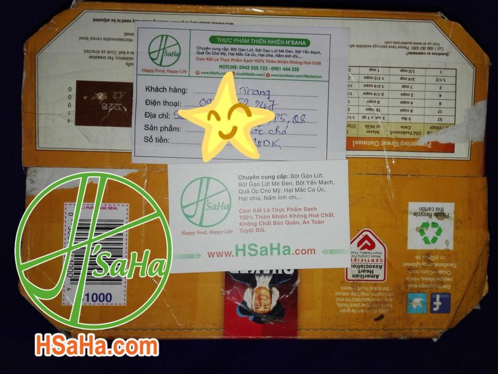 Giao 0,5 Kg Nhân Quả Óc Chó Mỹ Hsaha Đến Quận 8 Cho Chị Trang