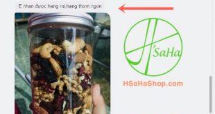Chị Thảo ở Đồng Nai mua Mix 6 loại hạt dinh dưỡng tách vỏ HSaHa